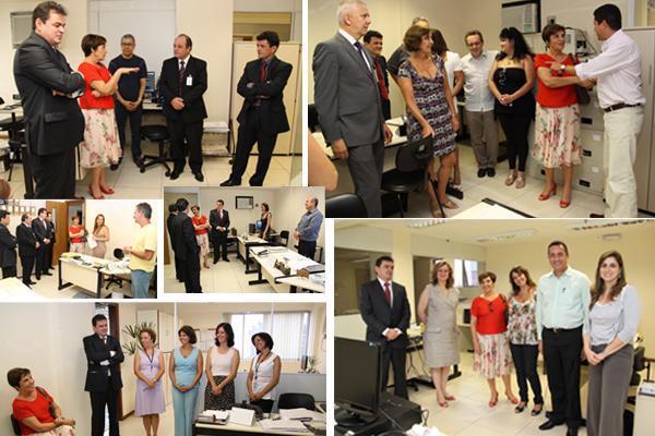Presidente é recebida com aplausos em visita ao prédio da Goitacases (imagem 2)
