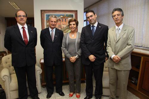 Presidente do TRT recebe representantes da OAB/MG (imagem 1)