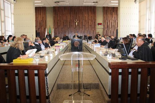 Presidente pede apoio dos desembargadores ao Projeto e-Gestão (imagem 1)