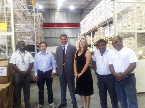 Diretores do TCU visitam Centro de Logística Integrada do TRT-MG (imagem 1)