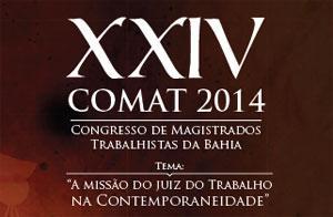 Amatra5 promove Congresso de Magistrados Trabalhistas na Bahia (imagem 1)