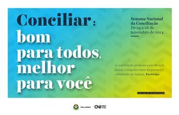 TRT-MG já recebe inscrições para Semana Nacional de Conciliação, que este ano convida interessados a produzirem vídeos sobre o tema (imagem 1)