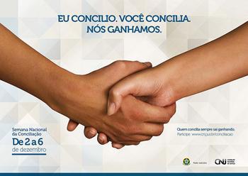 CNJ divulga campanha da Semana Nacional de Conciliação 2013 (imagem 1)
