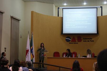 OAB e JT-MG debatem 70 anos da CLT e proteção ao trabalho feminino em Juiz de Fora (imagem 2)