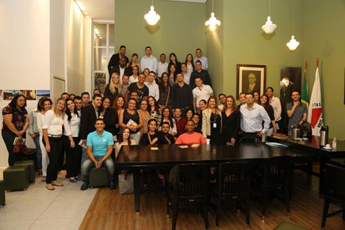 Alunos da Famig e Newton Paiva visitam TRT pelo Programa Justiça e Cidadania (imagem 1)