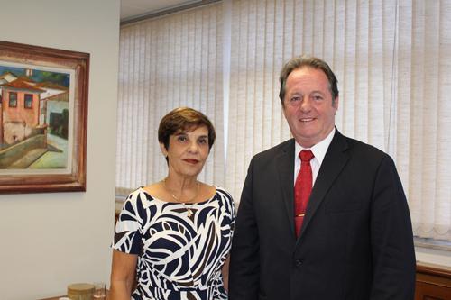 Candidatos à presidência e à diretoria financeira da Anamatra visitam presidente do TRT-MG (imagem 1)