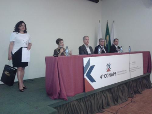 Presidente Deoclecia Amorelli Dias é homenageada no 4º Conape (imagem 1)