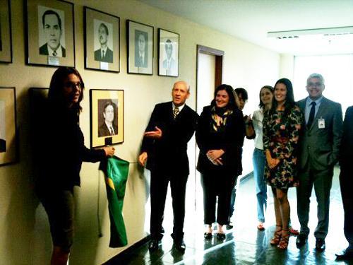 Retrato do desembargador César Machado é inaugurado na Escola Judicial (imagem 1)