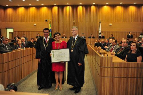 Desembargadora de Minas é homenageada pelo TRT da 15ª Região (imagem 1)