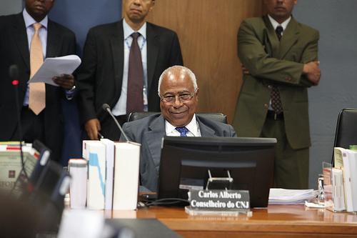 Ministro Carlos Alberto Reis de Paula é homenageado na despedida do CNJ (imagem 1)