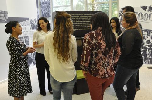 Doutorandos da Unifap visitam Exposição Trabalho & Cidadania do TRT-MG (imagem 1)