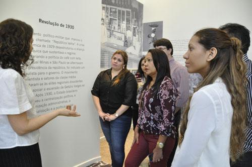 Doutorandos da Unifap visitam Exposição Trabalho & Cidadania do TRT-MG (imagem 3)