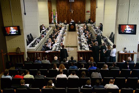 Pleno se informa sobre projeto de disponibilização de acórdãos e examina várias matérias (imagem 1)