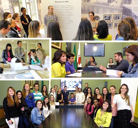 Alunos da Universidade Federal de Juiz de Fora participam de atividades na Justiça do Trabalho (imagem 1)