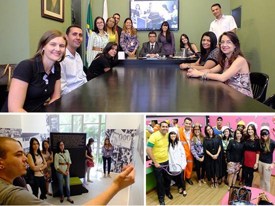 Alunos da PUC Barreiro visitam a Exposição Trabalho & Cidadania (imagem 1)