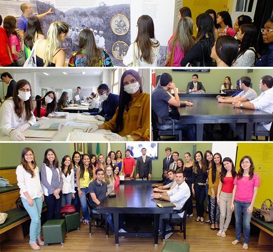 Alunos da Universidade Federal de Juiz de Fora participam de atividades na Justiça do Trabalho (imagem 2)