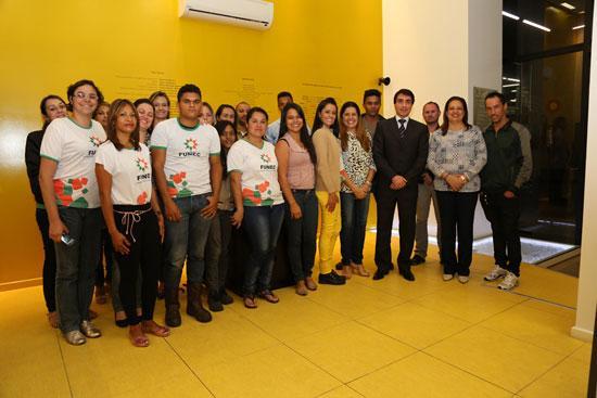 Alunos de cursos profissionalizantes da Funec participam do Justiça e Cidadania (imagem 1)