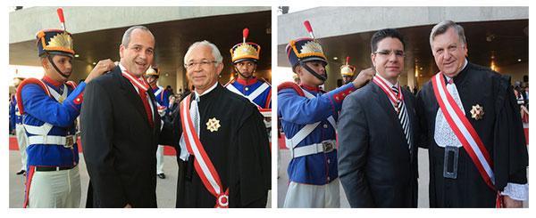 Magistrados do TRT de Minas agraciados com Ordem do Mérito Judiciário do Trabalho (imagem 1)