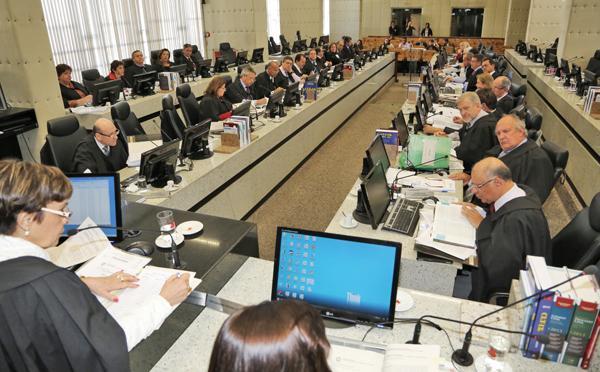 Tribunal Pleno e Órgão Especial reúnem nesta quinta-feira (imagem 1)