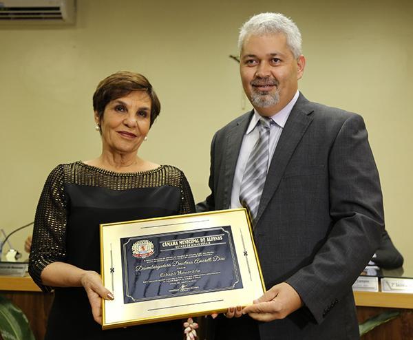 Desembargadora Deoclecia Amorelli Dias é cidadã honorária de Alfenas (imagem 1)