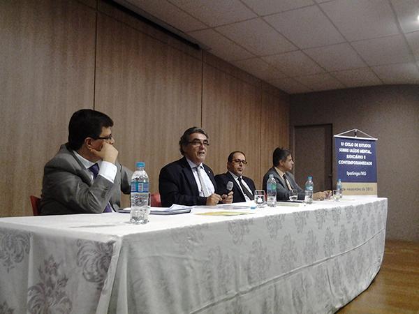 Ministro Aloysio Corrêa fala sobre competências do juiz em ciclo de estudos promovido pela Escola Judicial (imagem 1)