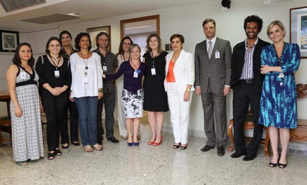 Presidente Deoclecia Amorelli Dias conhece resultados do Simpósio Qualidade de Vida no Trabalho (imagem 2)