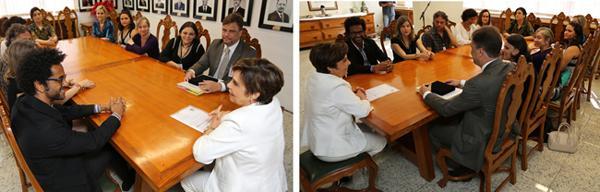Presidente Deoclecia Amorelli Dias conhece resultados do Simpósio Qualidade de Vida no Trabalho (imagem 1)