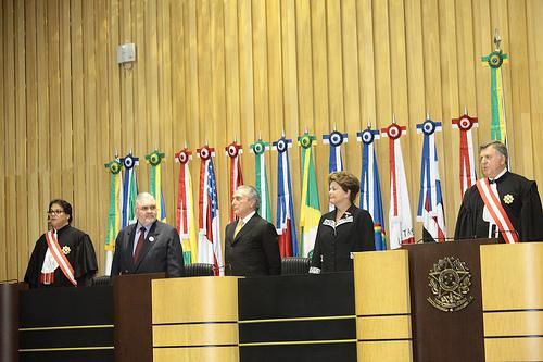 Ministro Reis de Paula é empossado na presidência do TST (imagem 1)