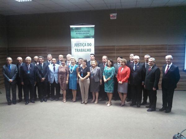 Presidentes se reúnem no VIII Encontro Nacional do Judiciário (imagem 1)