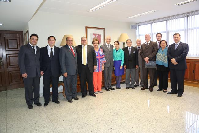 Corregedor-geral da Justiça do Trabalho se reúne com entidades de advogados (imagem 1)