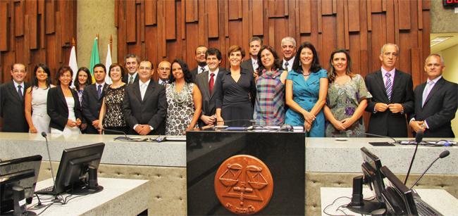 Cerimônia no TRT inaugura remoção e posse coletiva de magistrados (imagem 1)
