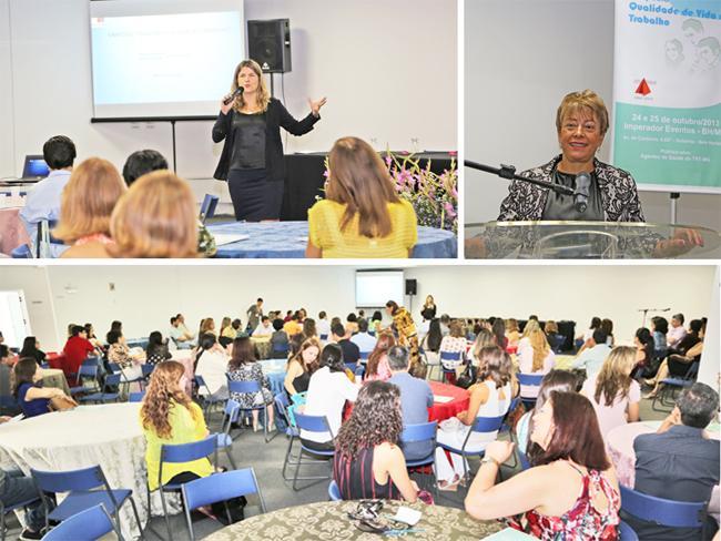 Projeto Servidor em Pauta é apresentado aos participantes de simpósio sobre Qualidade de Vida no Trabalho (imagem 1)