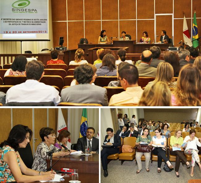 Presidente Deoclecia Amorelli Dias abre encontro do Singespa em Belo Horizonte (imagem 1)