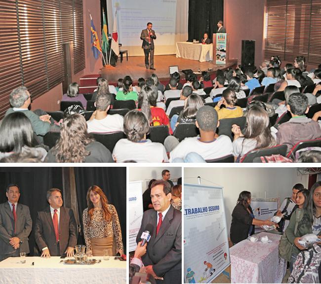 Alunos do CEFET de Itabirito assistem palestra do Trabalho Seguro (imagem 1)