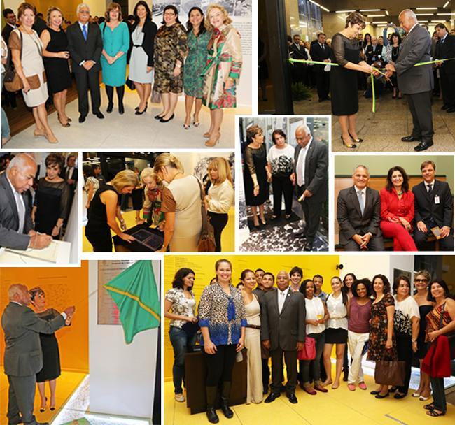 Inaugurada a Exposição Trabalho & Cidadania do TRT-MG (imagem 1)