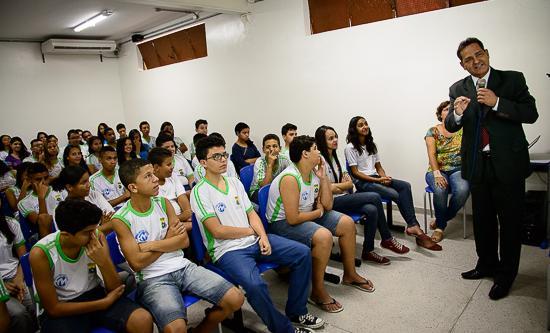 Trabalho Seguro leva conscientização para estudantes de escola da capital (imagem 1)