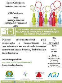 Colóquio promove cooperação entre instituições para atender cidadãos (imagem 1)