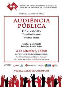 Audiência pública debate trabalho escravo (imagem 1)