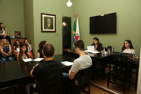 Estudantes da Fumec visitam TRT3 (imagem 2)