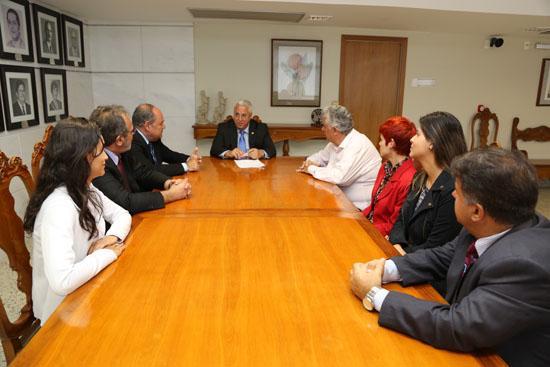 Grupo sindical visita o TRT-MG (imagem 1)