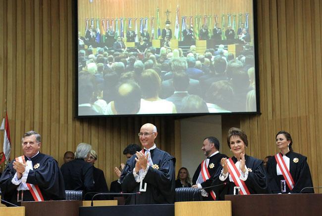 Presidente do TRT3 prestigia solenidade de posse dos novos dirigentes do TST (imagem 1)