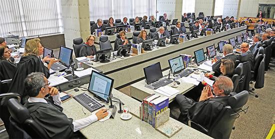 Sessão do Pleno de julho delibera sobre matérias judiciárias e administrativas e aprova aposentadoria de ex-presidente (imagem 1)