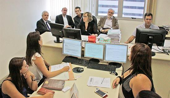 Docentes da Espanha e do Brasil vêm conhecer o PJe no TRT-MG (imagem 1)