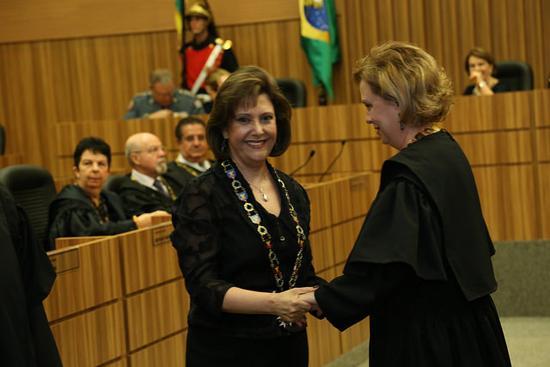 Presidente e Corregedora do TRT-MG agraciadas com o Grande Colar do Mérito Judiciário do TRT15 (imagem 2)