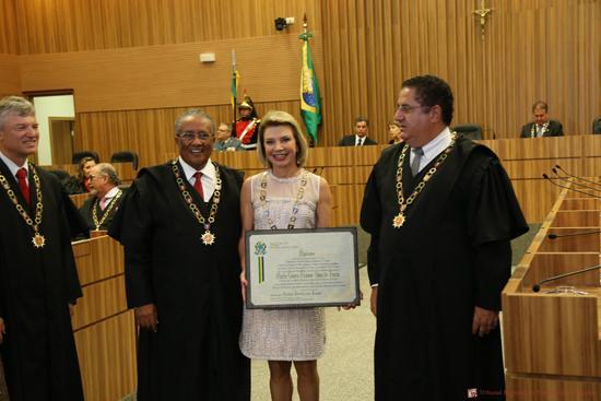 Presidente e Corregedora do TRT-MG agraciadas com o Grande Colar do Mérito Judiciário do TRT15 (imagem 1)
