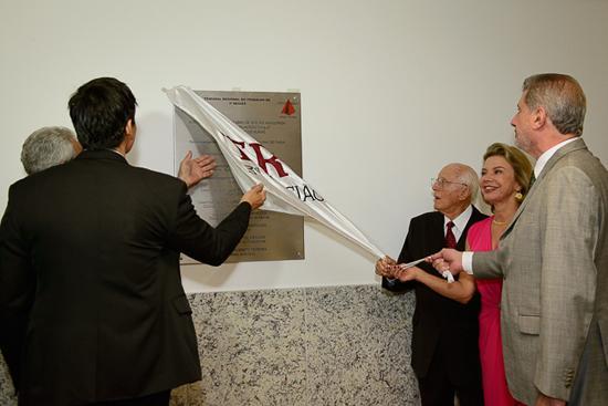Inaugurados a sede própria e o Processo Judicial eletrônico - PJe - na VT de Muriaé (imagem 1)