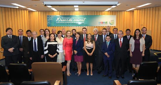 Magistrados do TRT-MG participam da comemoração dos 10 anos da Enamat (imagem 1)