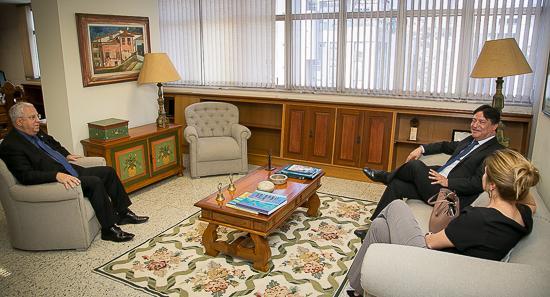 Procurador-Geral do MPT visita TRT-MG (imagem 1)