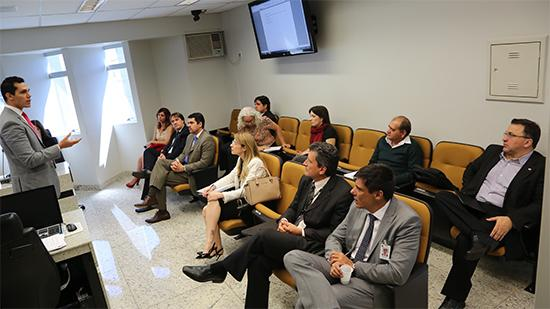 Representantes da coordenação nacional do PJe-JT visitam TRT-MG (imagem 1)