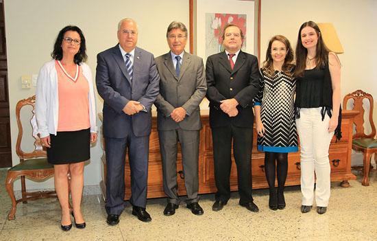Magistrado de tribunal francês visita TRT (imagem 1)
